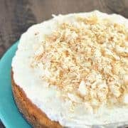 Coconut Cheesecake from What The Fork Food Blog | @WhatTheForkBlog | whattheforkfoodblog.com