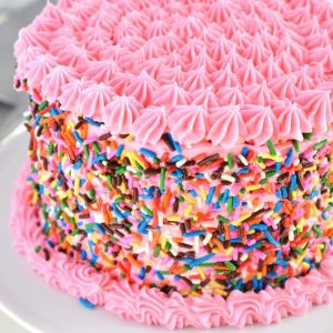 Gluten Free Funfetti Cake from What The Fork Food Blog | @WhatTheForkBlog