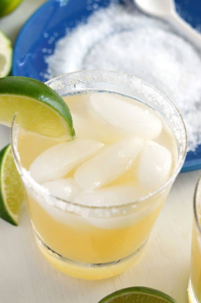 Skinny Coconut Margaritas from What The Fork Food Blog | @WhatTheForkBlog | whattheforkfoodblog.com