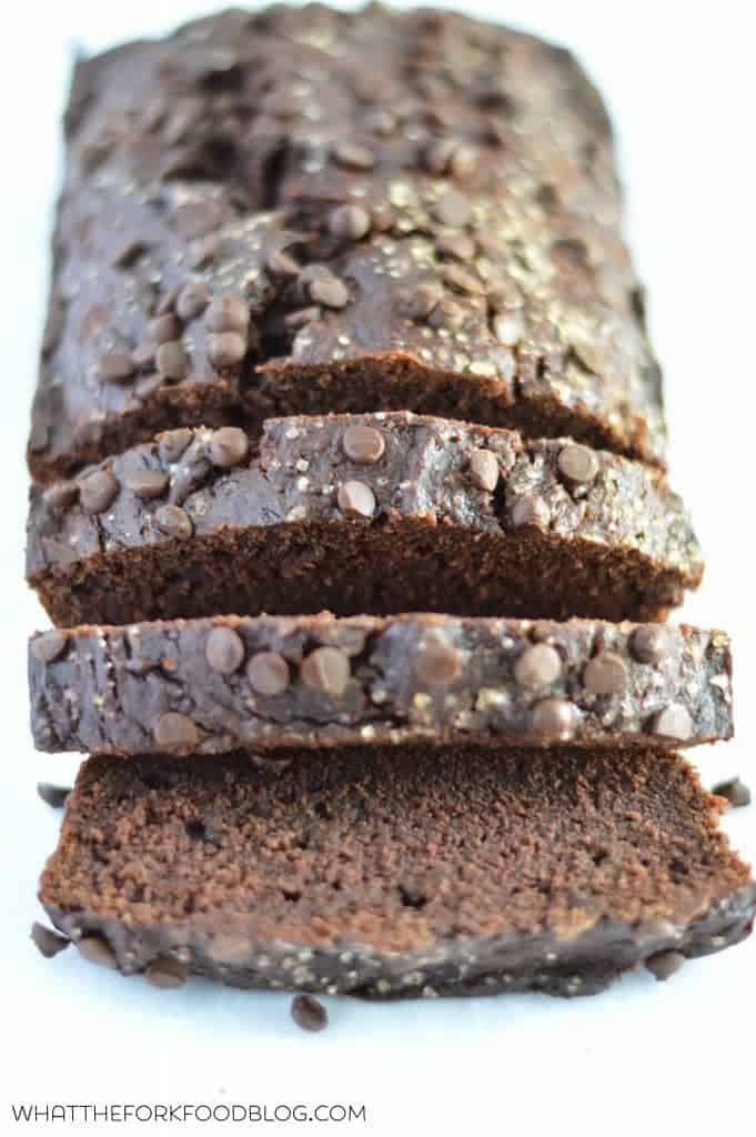 Double Chocolate Zucchini Bread from What The Fork Food Blog | @WhatTheForkBlog | whattheforkfoodblog.com