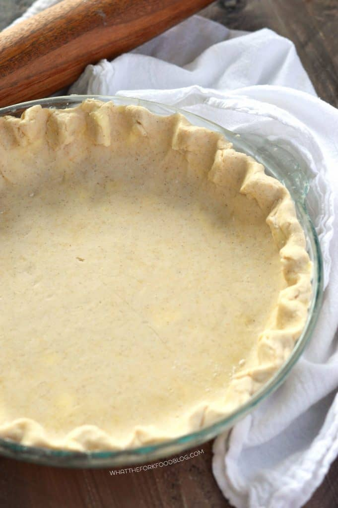 Gluten Free Pie Crust Recipe from What The Fork Food Blog | @WhatTheForkBlog | whattheforkfoodblog.com