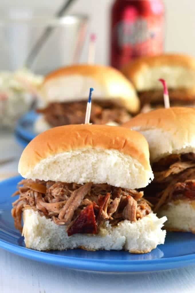 Slow Cooker Dr. Pepper Pulled Pork from What The Fork Food Blog | @WhatTheForkBlog | whattheforkfoodblog.com