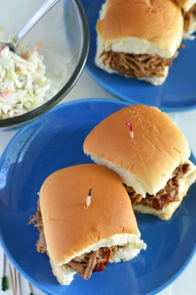 Slow Cooker Dr. Pepper Pulled Pork from What The Fork Food Blog   @WhatTheForkBlog   whattheforkfoodblog.com