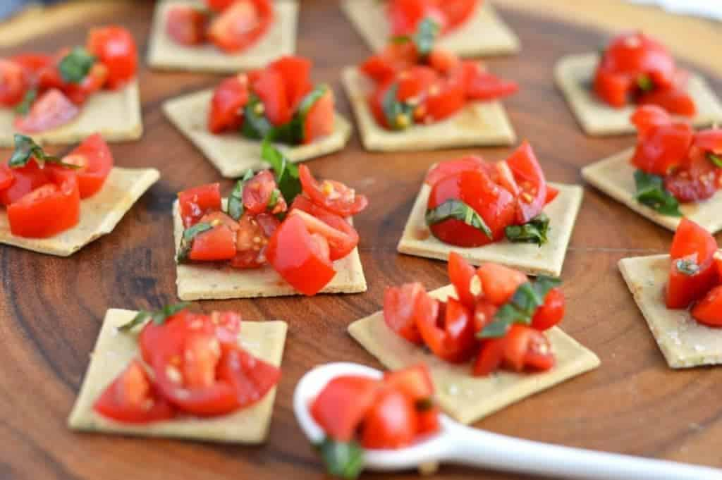 Easy Tomato Bruschetta from What The Fork Food Blog   @WhatTheForkBlog   whattheforkfoodblog.com