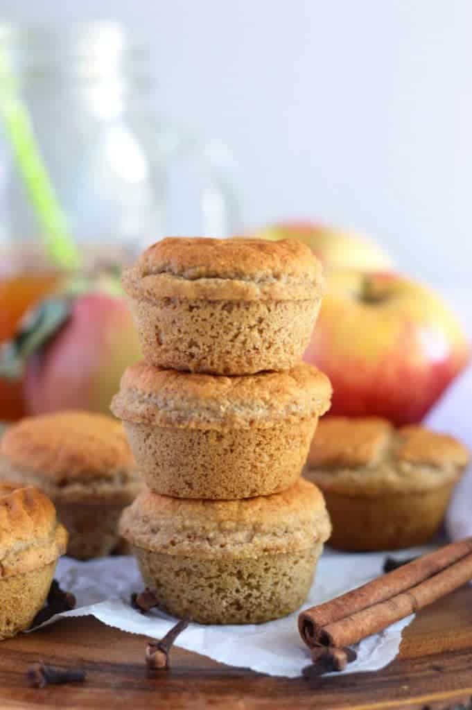 Healthy Apple Cider Donut Muffins from What The Fork Food Blog (gluten free, dairy free, naturally sweetened) | @WhatTheForkBlog | whattheforkfoodblog.com