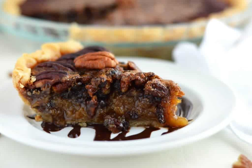 Gluten Free Fudge Pecan Pie from What The Fork Food Blog | whattheforkfoodblog.com