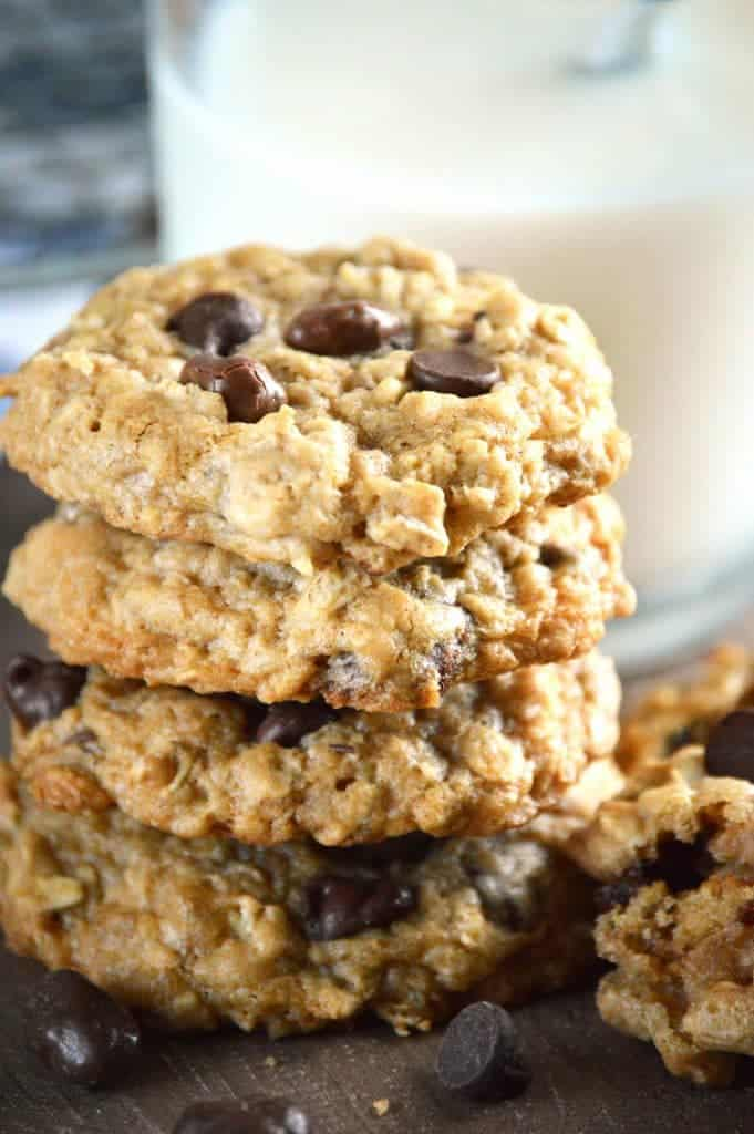 Gluten Free Oatmeal Raisinet Cookies from What The Fork Food Blog | whattheforkfoodblog.com