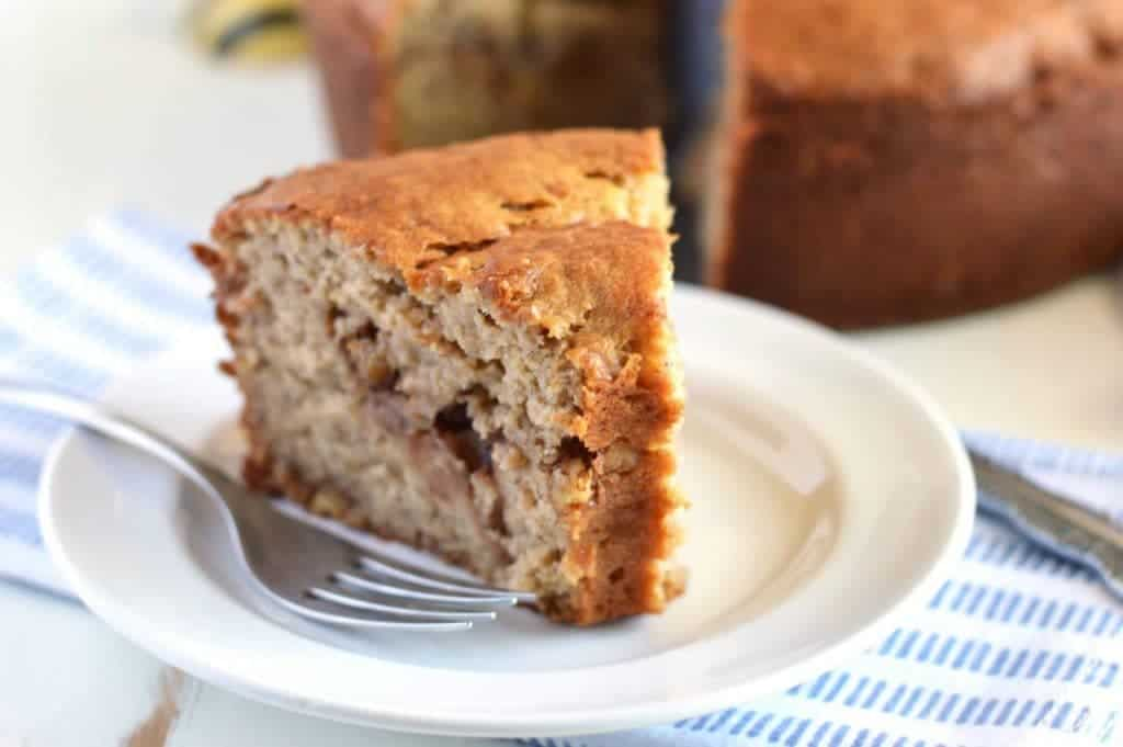 Honey Banana Coffee Cake from What The Fork Food Blog   @WhatTheForkBlog   whattheforkfoodblog.com