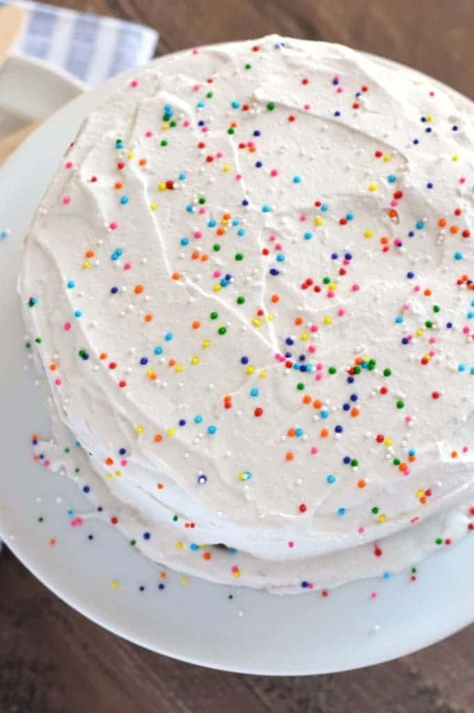 Dairy Free Freezer Cake from What The Fork Food Blog | whattheforkfoodblog.com