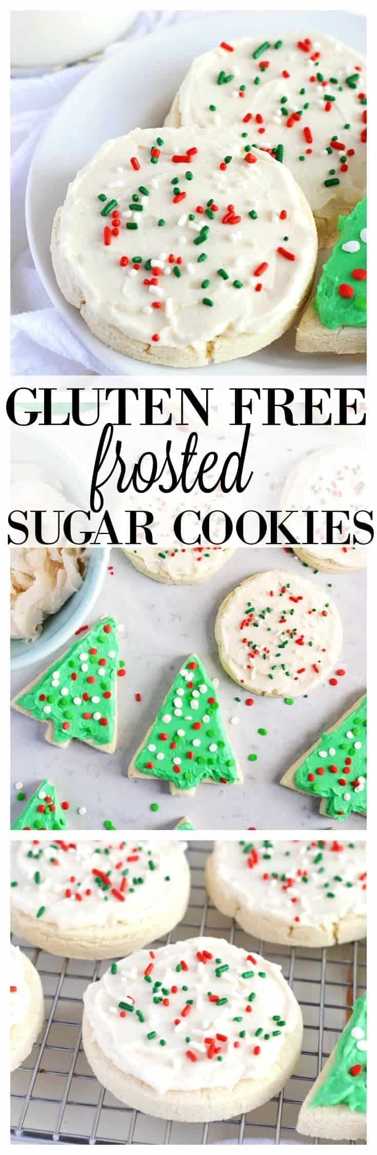 Gluten Free Soft Frosted Sugar Cookies What The Fork