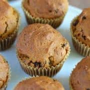 Classic Gluten Free Pumpkin Muffins from What The Fork Food Blog | whattheforkfoodblog.com