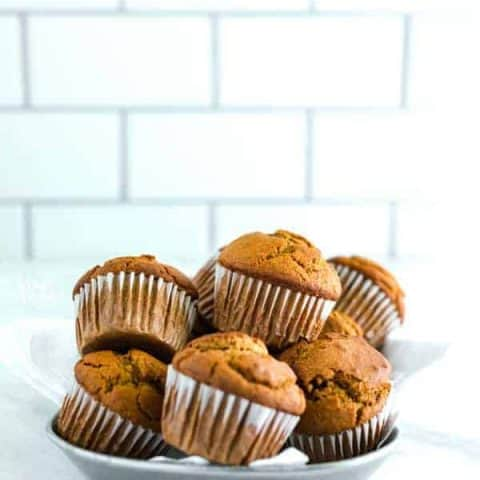 Easy Gluten Free Pumpkin Muffins Recipe