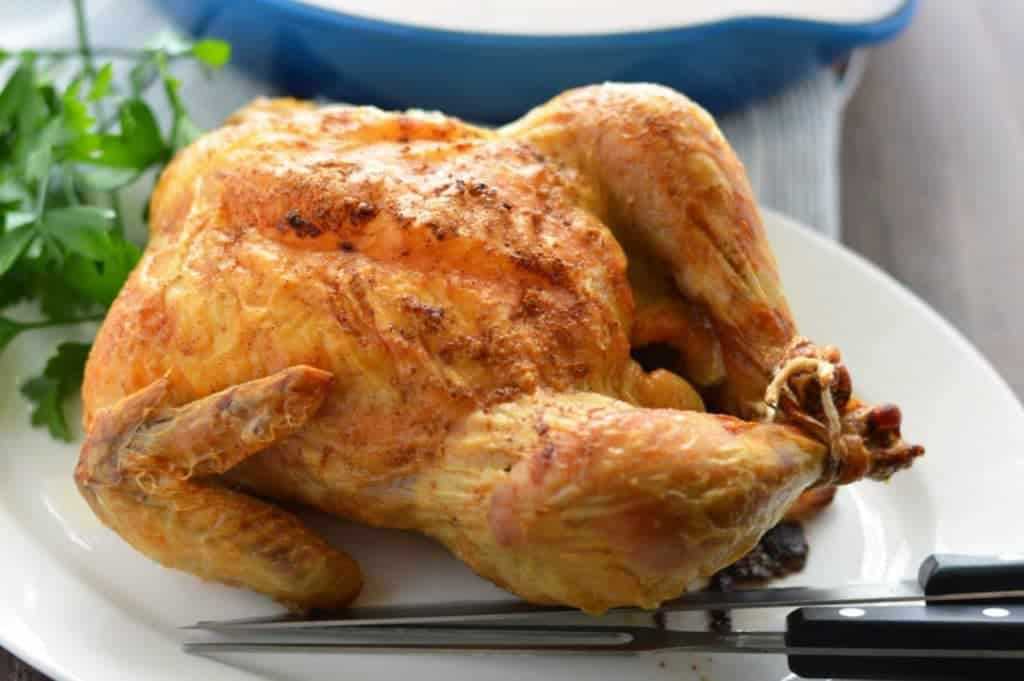 Pan Roasted Chicken and Gravy (paleo) from What The Fork Food Blog | whattheforkfoodblog.com