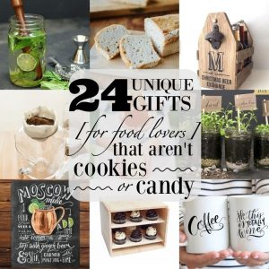 Unique Gifts for Food Lovers that aren't Food from What The Fork Food Blog   whattheforkfoodblog.com
