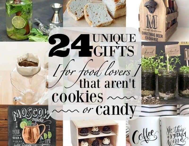 Unique Gifts for Food Lovers that aren't Food from What The Fork Food Blog | whattheforkfoodblog.com
