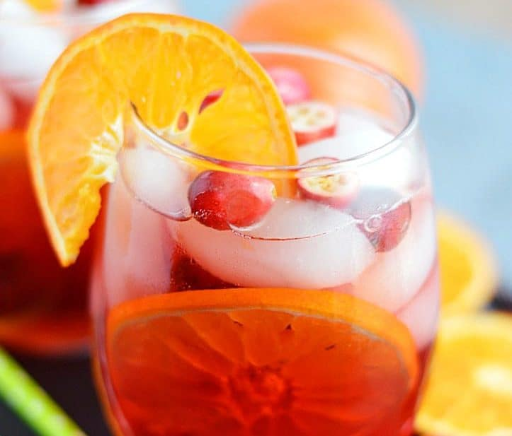 Cranberry Orange Sangria from What The Fork Food Blog | whattheforkfoodblog.com