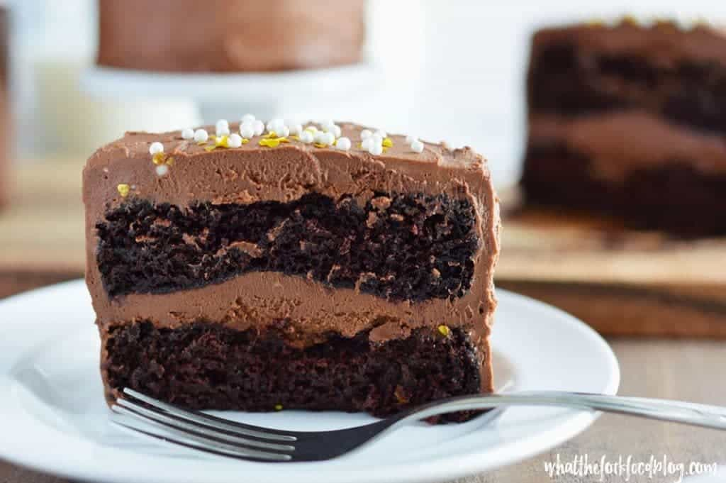 Mini Chocolate Layer Cake Recipe From What The Fork Food Blog These Gluten Free And