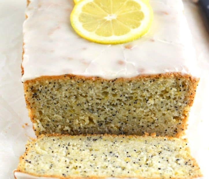 Gluten Free Lemon Poppyseed Bread from What The Fork Food Blog | whattheforkfoodblog.com