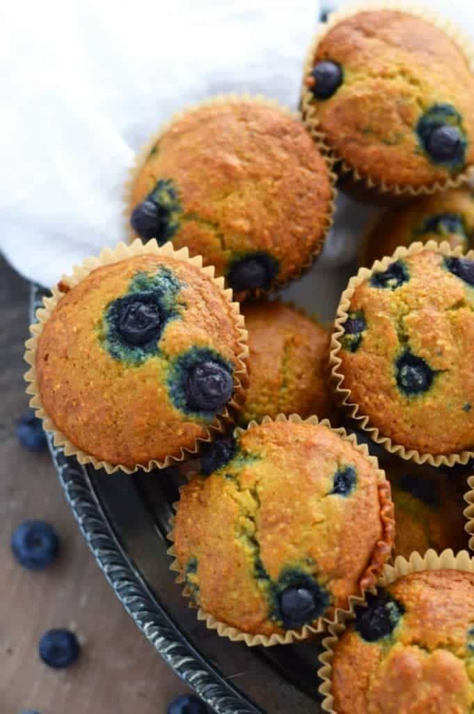 Food Network Easy Blueberry Muffins