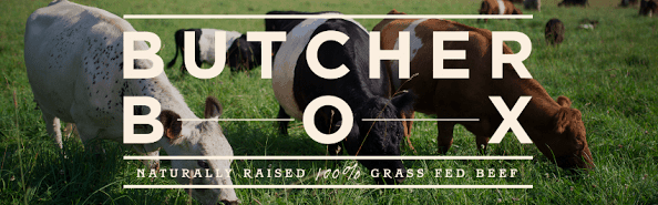 ButcherBox - grass fed meat delivered to your door