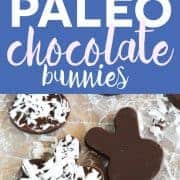 Paleo Chocolate Bunnies from What The Fork Food Blog. These are perfect for Easter! | whattheforkfoodblog.com