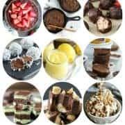 45 Paleo Desserts on What The Fork Food Blog | whattheforkfoodblog.com