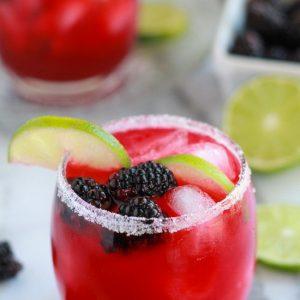 Blackberry Lime Margaritas + 25 Margarita Recipes for Cinco de Mayo on What The Fork Food Blog | whattheforkfoodblog.com