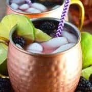Blackberry Moscow Mule from What The Fork Food Blog | whattheforkfoodblog.com