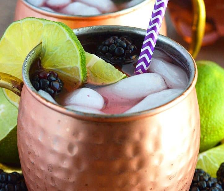 Blackberry Moscow Mule from What The Fork Food Blog   whattheforkfoodblog.com