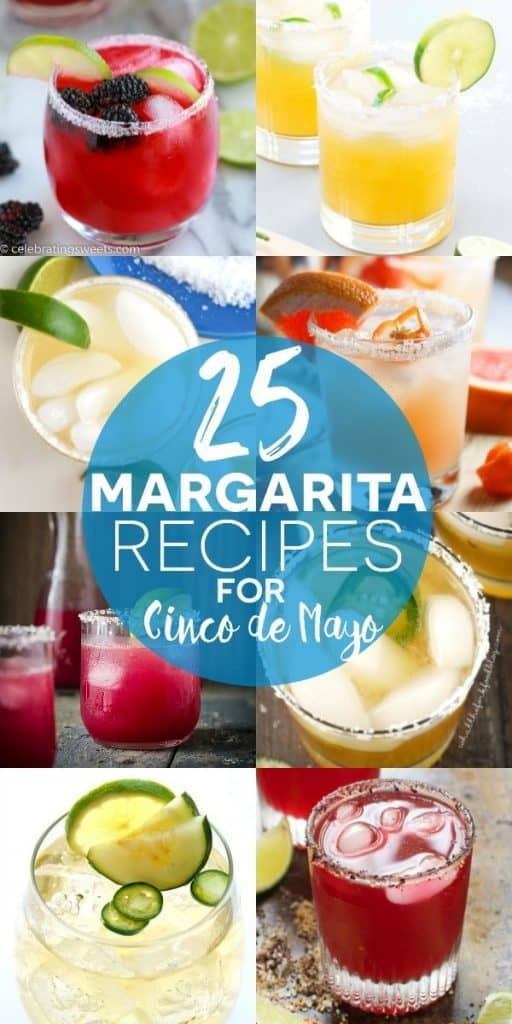 25 Margarita Recipes for Cinco de Mayo on What The Fork Food Blog | whattheforkfoodblog.com