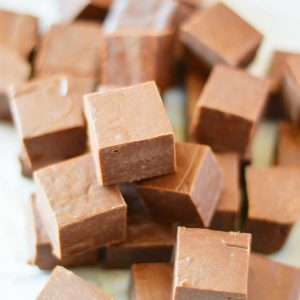 Milk Chocolate Fudge from What The Fork Food Blog | whattheforkfoodblog.com