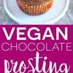 Vegan Chocolate Frosting recipe from What The Fork Food Blog (vegan, dairy free, gluten free) | whattheforkfoodblog.com