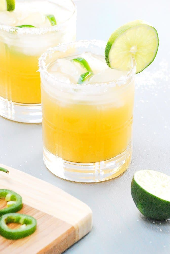 Pineapple Margaritas + 25 Margarita Recipes for Cinco de Mayo on What The Fork Food Blog | whattheforkfoodblog.com