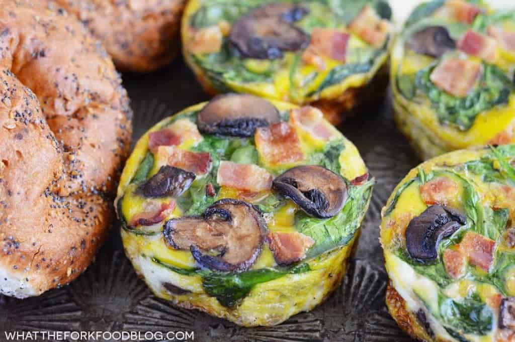 Frittata Breakfast Sandwiches (gluten free, dairy free option) from What The Fork Food Blog | whattheforkfoodblog.com