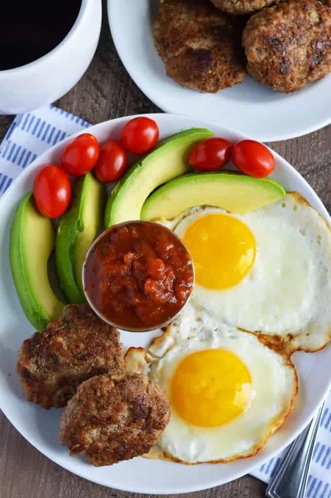 Whole30 Breakfast Sausage (paleo) from What The Fork Food Blog | whattheforkfoodblog.com