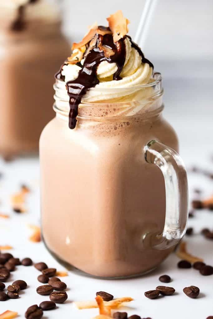 1½ cups crushed iced; ounce shots of espresso OR use ¾ cup of double strength (strong) coffee mixed with ½ cup of milk and increased crushed iced amount by ¼ news4woman.tk Time: 3 mins.