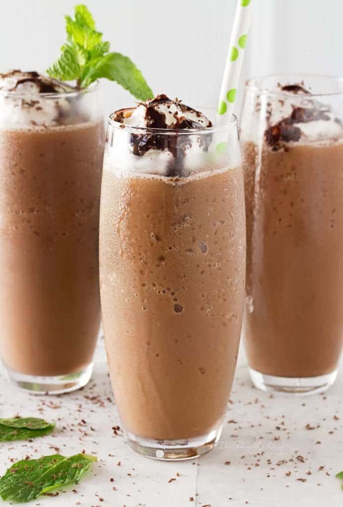 Copycat Mocha Frappe plus 23 Coffee Drinks You Can Make at Home from What The Fork Food Blog | whattheforkfoodblog.com
