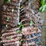 Marinated Grilled Skirt Steak from What The Fork Food Blog | whattheforkfoodblog.com