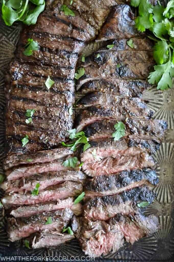 Grilled Skirt Steak What The Fork