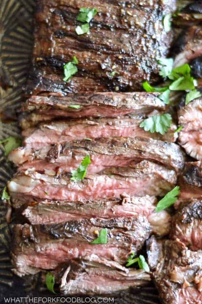 Marinated Grilled Skirt Steak from What The Fork Food Blog ...