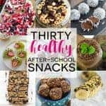30 healthy after-school snacks from What The Fork Food Blog | @whattheforkblog | whattheforkfoodblog.com