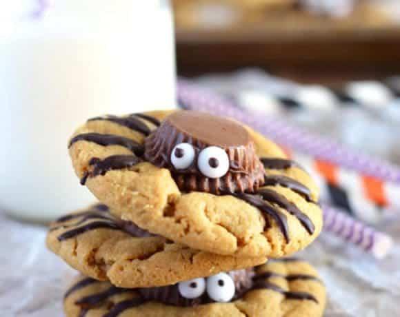 Gluten Free Spider Cookies