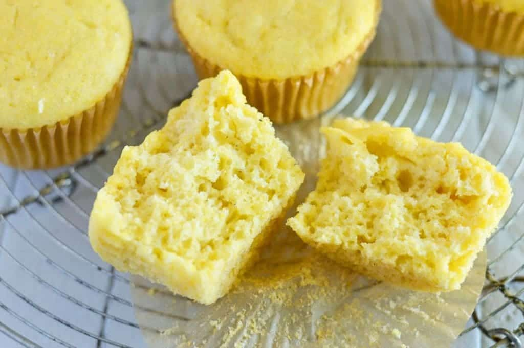Easy Gluten Free Corn Muffins (and dairy free) from @whattheforkblog | whattheforkfoodblog.com