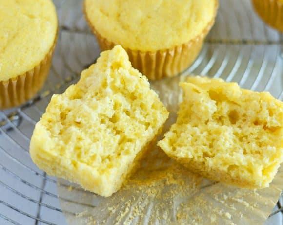 Easy Gluten Free Corn Muffin Recipe