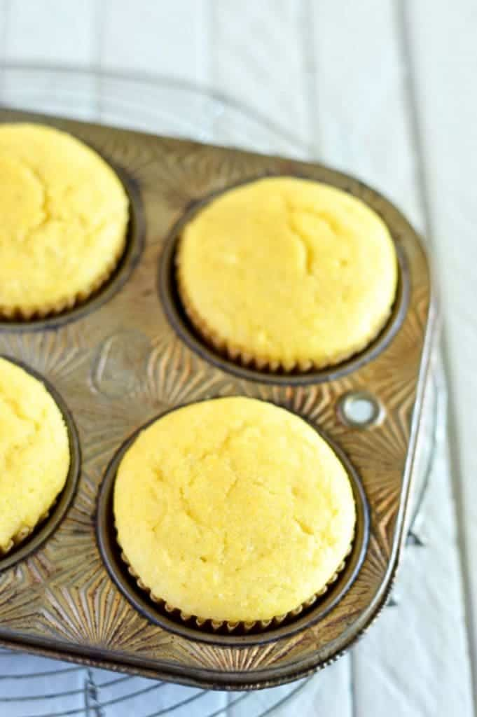 Easy Gluten Free Corn Muffins (and dairy free) from @whattheforkblog | whattheforkfoodblog.com