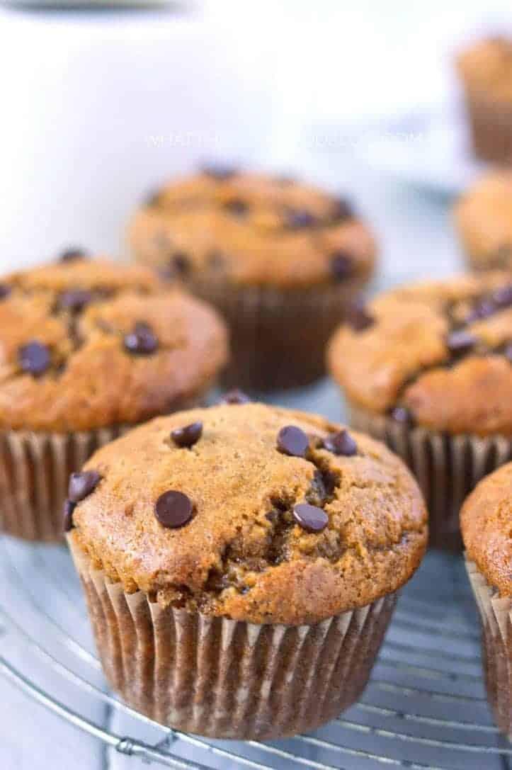 Gluten Free Zucchini Chocolate Chip Muffins