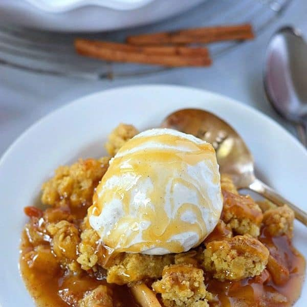 Gluten free caramel apple crisp recipe what the fork forumfinder Images