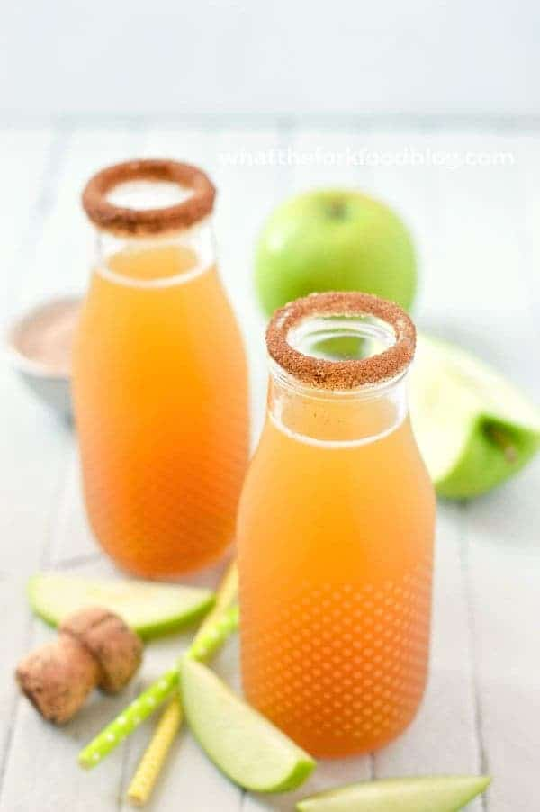 Apple Cider Mimosas | 21 Easy Brunch Cocktails For Your Weekend Party With Your Girlfriends