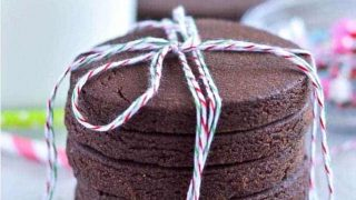 Gluten Free Chocolate Sugar Cookies