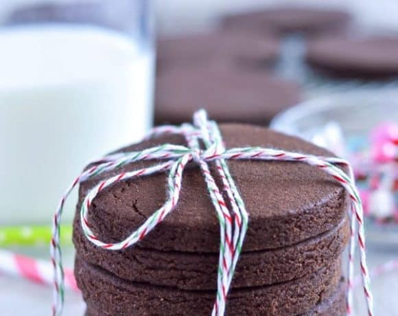Gluten Free Chocolate Sugar Cookies and Giveaway